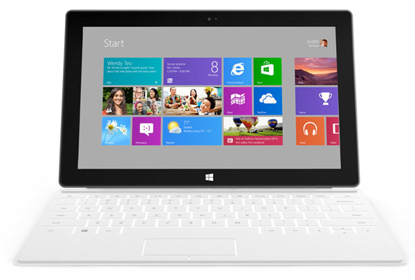 Microsoft zbulon tabletin Surface me Windows 8
