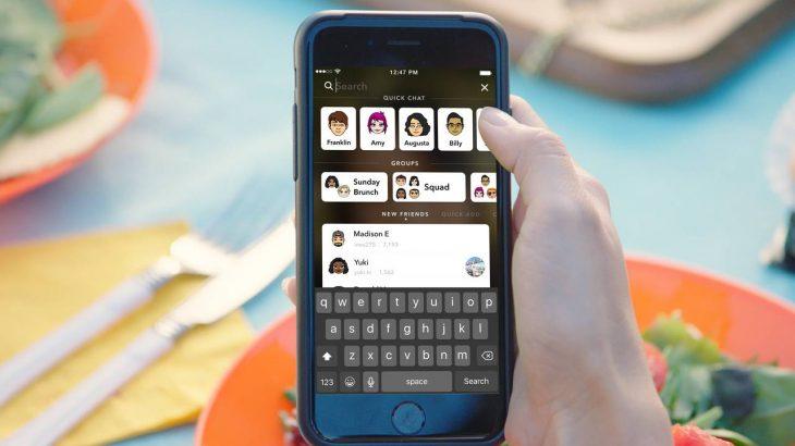 Snapchat lehtëson navigimin me një funksion universal kërkimi