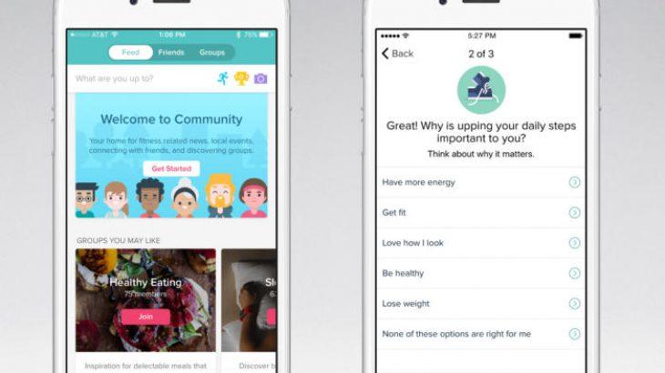 Fitbit përmirëson eksperiencën e aplikacioneve me grupet dhe objektivat e rekomanduara