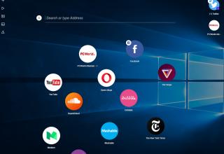 Opera prezantoi Neon, një koncept sesi duhet të jetë një shfletues modern