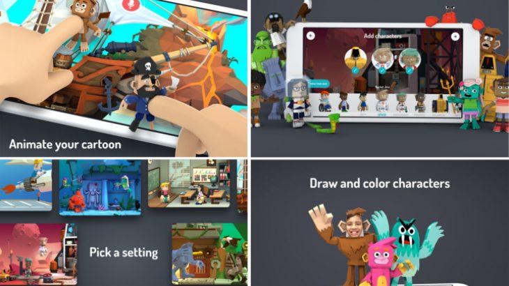 Google sjell një version 3D të aplikacionit për fëmijët Toontastic