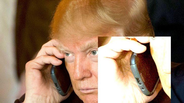 """Kush është telefoni i """"pa sigurtë"""" i Donald Trump?"""