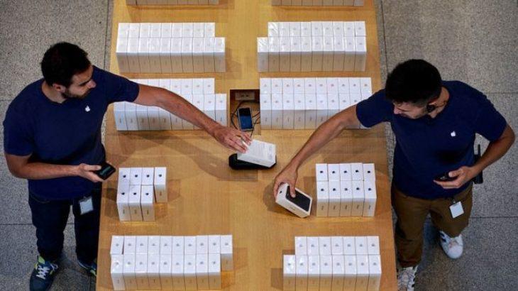 "iPhone 7 ""zgjon"" gjigandin Amerikan Apple"