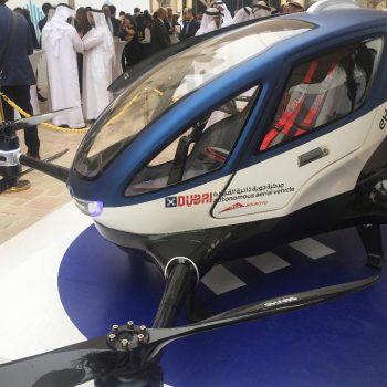Dronët taksi pritet të pushtojnë qiellin e Dubait në Korrik