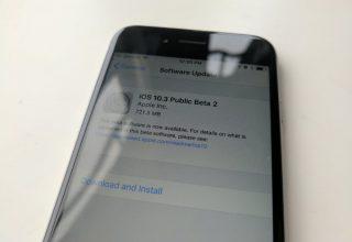Apple publikoi betan e dytë publike të iOS 10.3
