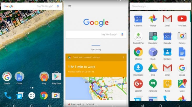 Lamtumirë Google Now Launcher