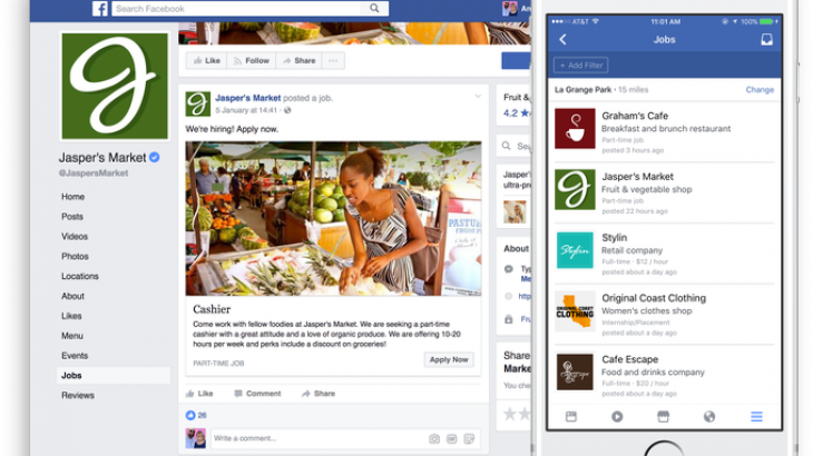 Tani mund të aplikoni për punë nëpërmjet rrjetit social Facebook