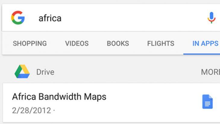 Google Search në Android me funksion kërkimi edhe në Google Drive