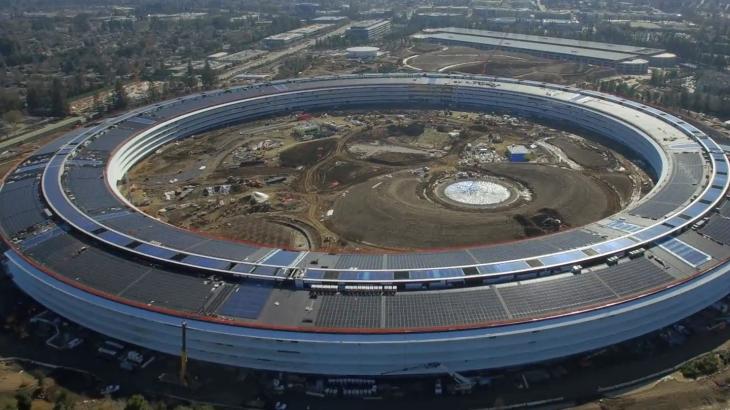 Kampusi 5 miliard dollarësh i Apple hapet në Prill