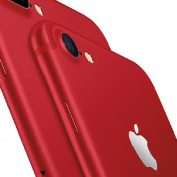 Apple iPhone tashmë në ngjyrë të kuqe, përditësohet iPad 9.7 inç