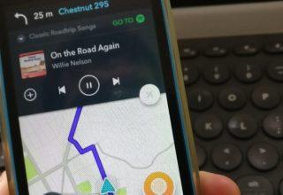 Spotify dhe Waze integrojnë shërbimet respektive në aplikacionet e tyre