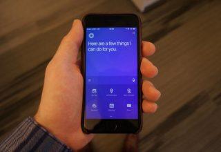 Microsoft ridizajnon aplikacionin e  Cortana në iOS