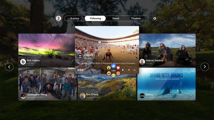 Facebook lançoi aplikacionin e parë të realitetit virtual, Facebook 360