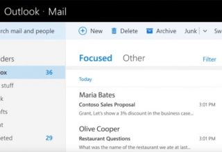 """Focused Inbox"" mbërrin në Outlook, Office 365 dhe aplikacionin Windows Mail"