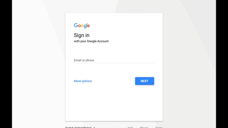 Google do të ndryshojë ndërfaqjen e kyçjes në Gmail, Play, Search dhe Youtube