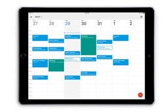 Google Calendar i përshtatur edhe për iPad