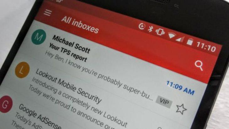 Përdoruesit e Gmail mund të pranojnë por jo të dërgojnë përmbajtje deri në 50 Megabajt