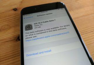 Apple publikoi betan e shtatë publike të iOS 10.3, javën e ardhshme versioni final