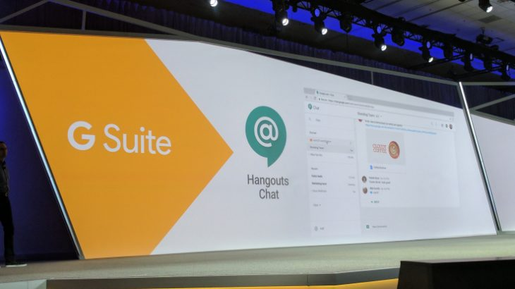 Google sfidon Slack me Hangouts Chat dhe Meet