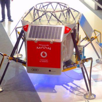 Vodafone me mbulim LTE edhe në Hënë