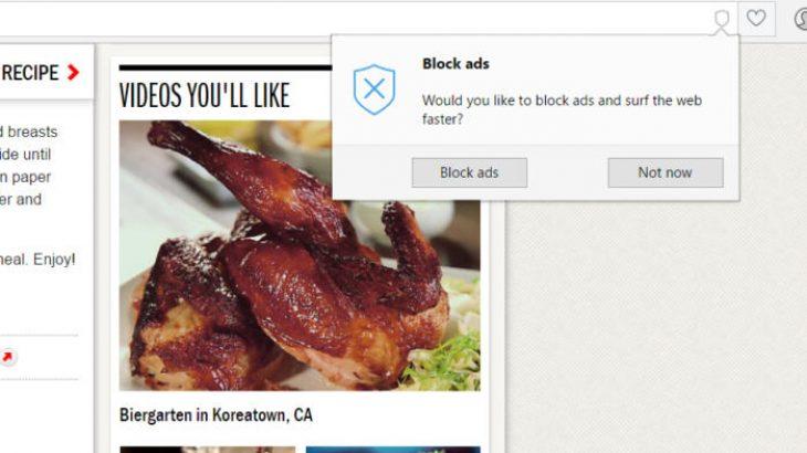Opera do të aktivizojë automatikisht bllokuesin e integruar të reklamave
