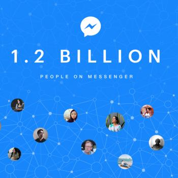 Facebook Messenger me 1.2 miliard përdorues aktivë