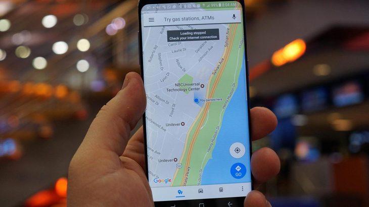Ja sesi të përdorni funksionin e ri të parkimit në Google Maps