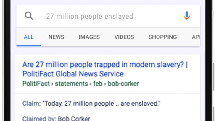 Google tregon vërtetësinë e lajmeve në rezultatet e kërkimit
