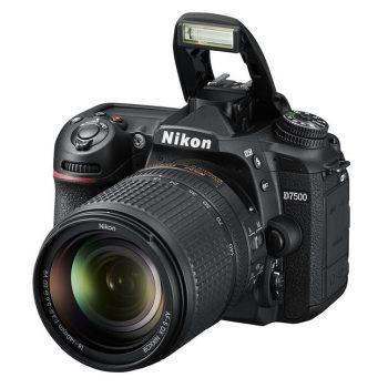 Nikon prezantoi D7500 me sensor 20.9 megapiksel dhe video 4K