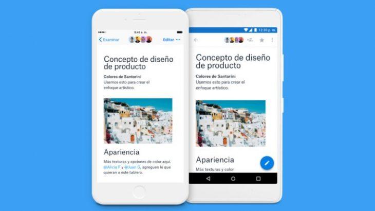 Aplikacionet mobile të Dropbox Paper funksionojnë offline dhe 20 gjuhë të reja