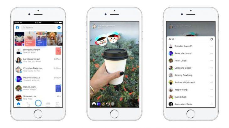 Shikoni historitë e Facebook edhe përmes Messenger.com