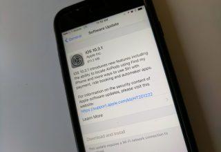 Apple publikoi versionin 10.3.1 të iOS së bashku me një version 32bit për iPhone 5 dhe 5C