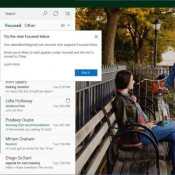Windows 10 Mail dhe Calendar veçori të reja për përdoruesit e Gmail