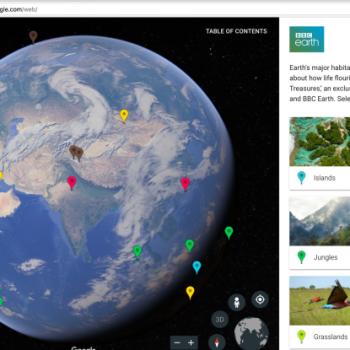 Njihuni me Google Earth e ri për Chrome dhe Android