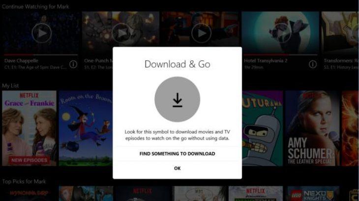 Netflix sjell transmetimet offline në aplikacionin universal të Windows 10-ës