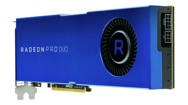 Karta e re grafike AMD Radeon Pro Duo premton dyfishin e performancës së Titan X