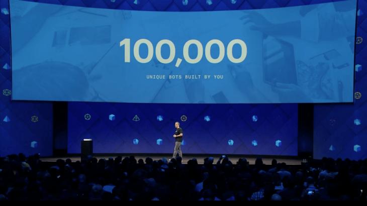 """Një vit nga debutimi dhe """"Platforma"""" Messenger ka 100,000 robotë komunikimi"""