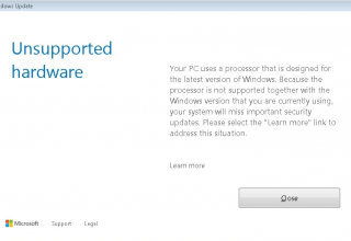 Microsoft bllokon përditësimet për sistemet Kaby Lake dhe Ryzen në Windows 7