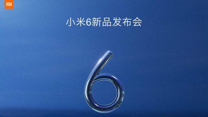 Xiaomi prezanton Mi 6 më 19 Prill