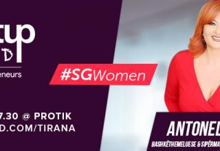 Startup Grind Tirana pret në takimin e radhës bashkëthemeluesen e Hako shpk, Antonela Hako