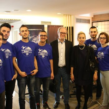 Ekipi Shqiptar nga Prishtina Heliox në finalen e People's Choice në NASA Space Apps Challenge 2017