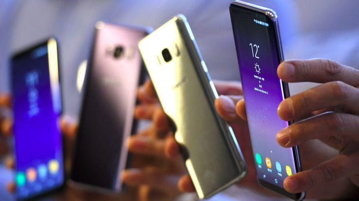 Bien ndjeshëm shitjet e telefonëve Samsung, markat kineze në ekspansion