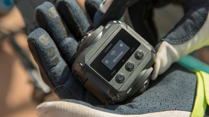 Kamera e re 360 gradëshe Garmin është rezistente ndaj ujit dhe regjistron audio 3D