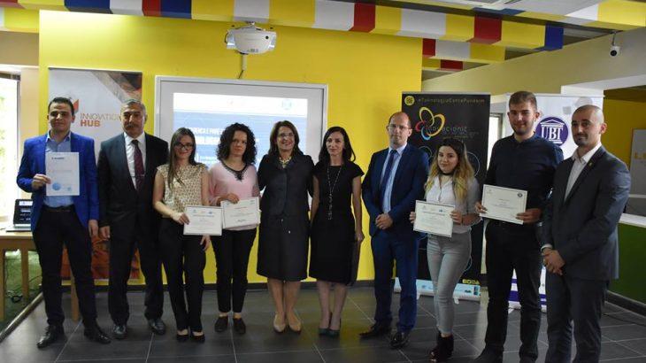 """Punimi shkencor i studentit të UBT-së, u zgjodh ndër më të mirët në konferencën """"Teknologjia që punëson"""""""