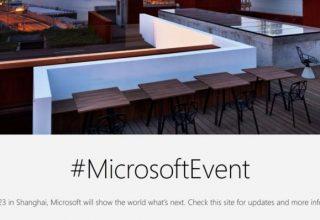 Microsoft organizon një tjetër aktivitet Surface më 23 Maj