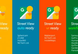 Google lançoi certifikimin Street View për kamerat 360 gradëshe
