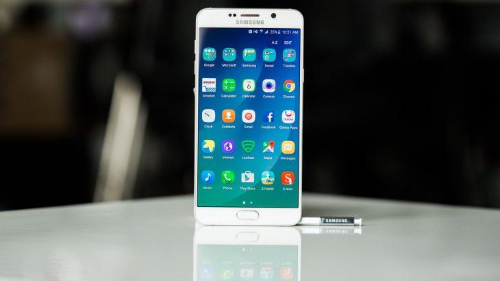 Galaxy Note 5 përditësohet në Android 7.0 Nougat
