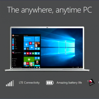 Microsoft demostron Windows 10-ën në një kompjuter me procesor ARM