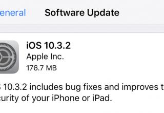 Apple iOS 10.3.2 ka një problem të madh