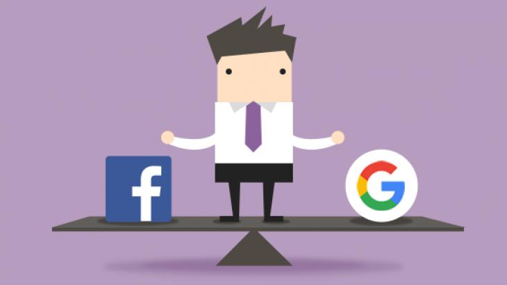 Sasia e trafikut të referuar, Google apo Facebook?